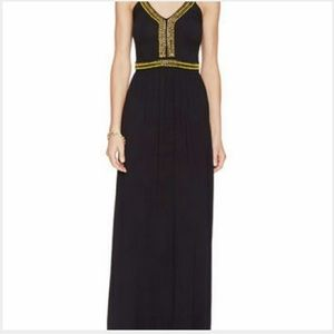 French Connection black maxi, size 0